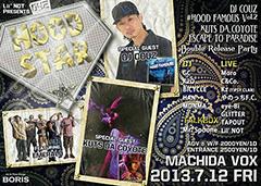 KUTS DA COYOTE [Lil' NOT Presents HOOD STAR]at 東京