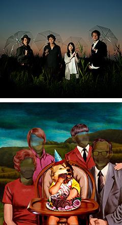 キツネの嫁入り、話題の「死にたくない」MVのために制作されたカラオケ映像をフル尺で特別公開!