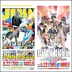 VIKNのニュー・アルバム『CAPITAL』のリリース・パーティが人気イベント「NEVER BROKE」で開催!