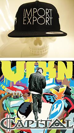 VIKN x BOUNTY HUNTER x IMPORT EXPORTのコラボ・キャップが来月発売に!