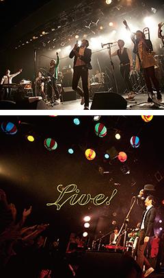 正にこれからが旬!奇妙礼太郎トラベルスイング楽団のライブ・パフォーマンスと会場の熱気もろとも封じ込めたCD+DVD作品「Live!」が9/18にリリースとなります。同ライブ映像よりカットした先行PVが公開開始!!