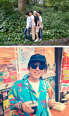シャムキャッツ [シャムキャッツ ワンマンツアー 2014 「GO」 with 玉田伸太郎(VJ)]at 東京