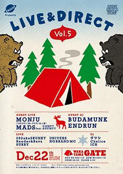 ISSUGI / BUDAMUNK [ナサキカクpresents 『LIVE&DIRECT vol.5』]at 和歌山