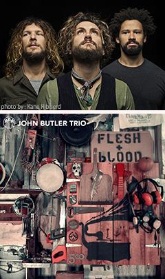 ジョン・バトラー・トリオ『フレッシュ&ブラッド』の初回特典について