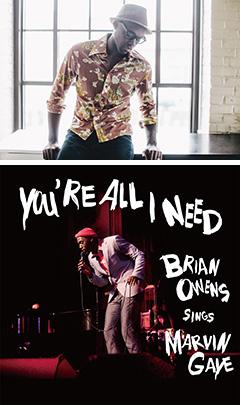 本日デジタル先行解禁!Brian Owensが30回忌を迎えるMarvin Gayeへ捧ぐ魂のトリビュートカバー盤!