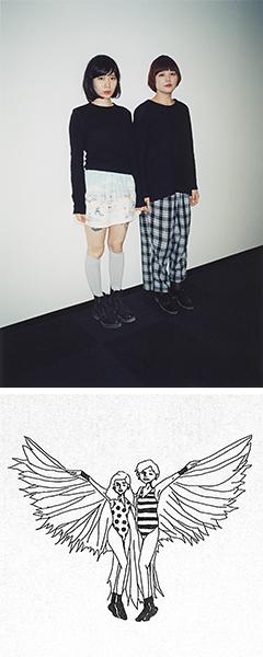 爆音ガールズ・ハードコア・ポップ・デュオ、TADZIO超待望の2ndアルバム『TADZIO II』、3.19リリース!カバーアート、最新アーティスト写真公開!