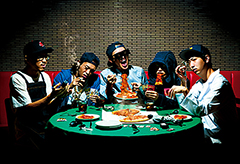 アルバム『HISTORY OF K.T.』も大好評のヒップホップ・バンド・カタコトが、リリースパーティを3月21日(金・祝)に開催!題して、<おせんべいぱりパーリー>!!??
