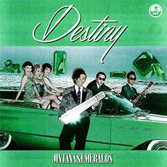 大変お待たせしました!JINTANA & EMERALDS傑作アルバム『Destiny』待望のLPが遂にリリース!発売を記念して今夏のJIN ROCK FESでのライヴ映像を公開、12月20日&29日には貴重なライヴも決定です!