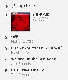 デルタ兄弟『デルタ兄弟』、iTunesブルースチャート1位獲得!