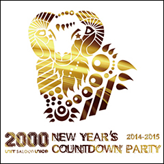 """Sick Team [""""2000"""" UNIT/SALOON/UNICE NEW YEAR'S COUNTDOWN PARTY2014-2015]at 東京"""