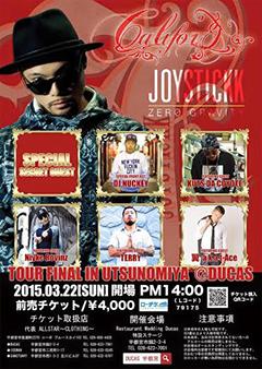 JOYSTICKK [CALIFOR 宮 prezentz 【JOYSTICKK / ZERO GRAVITY RELEASE TOUR FINAL】]at 宇都宮