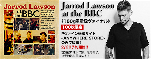 3/31 release Jarrod Lawson at the BBC