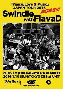 SWINDLE [「Peace, Love & Music」JAPAN TOUR 2016]at 愛知