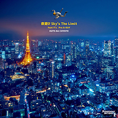 """KUTS DA COYOTEの新加入したTHE FOREFRONT RECORDSの盟友であるY'Sをフィーチャーした新曲""""夜遊び-sky's The Limit-""""が本日深夜0時より配信解禁!"""