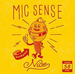 4月6日発売、Funkymicのニューアルバム『MIC SENSE NICE』よりアルバム音源のライブミックス映像を公開!やついいちろう(エレキコミック)からコメント「ナイスセンス!」。