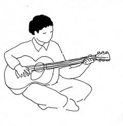 """沖縄が生んだ、圧倒的なソングライティングがひかるシンガーソングライター""""ハクブンゴウ""""のデビューEP『彼がいうには』が6月2日に発売!EPから先行曲「走り出すのさ」&アートワークを公開。"""
