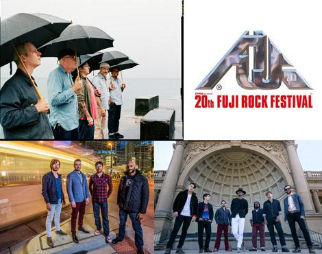 10/8(土)にOAされるMTV 「MTV LIVE: FUJI ROCK FESTIVAL' 16 洋楽アーティストスペシャル」で、The New Mastersounds、CON BRIO、TORTOISEのライブ映像が放送されることが決定!