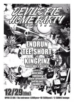 ENDRUN【Devil's Pie×Home Party】at 長野