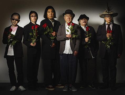 """""""薔薇がなくちゃ生きていけない""""デビュー40周年記念、ムーンライダーズ・トリビュート・アルバムの発売を記念して、ムーンライダーズメンバーからのコメントが到着!"""