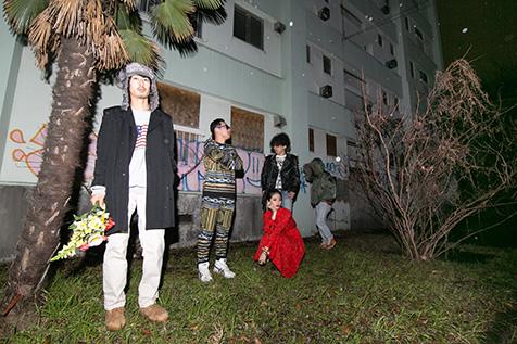 ライヴハウス、クラブ、ギャラリー…多方面から注目を集める異形の音楽集団、NINJAS(ニンジャス)が、1stアルバム『JAP』を2017年1月6日にリリース!