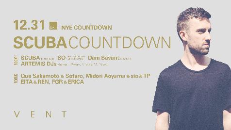 Scuba 【Scuba NYE Countdown】at 東京