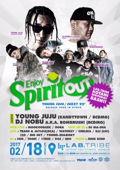 YOUNG JUJU【SPIRIT OUT】at 京都