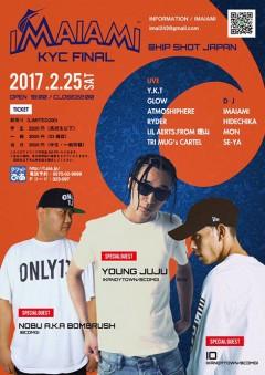 IO、YOUNG JUJU【IMAIAMI KYC FINAL】at 福島
