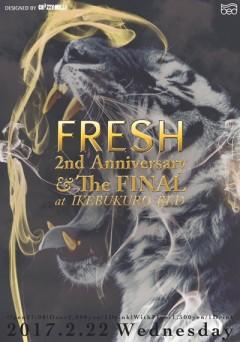 ISSUGI、仙人掌【FRESH~2nd Anniversary】at 東京