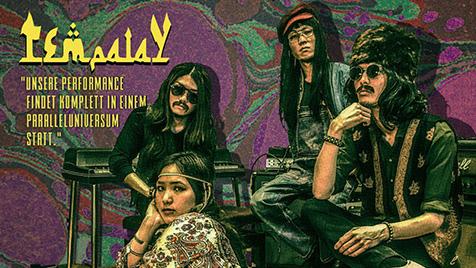 Tempalay、新作EP『5曲』から海外の音楽番組をオマージュした本人たち曰く初となる演奏シーンを撮影したMV「Austin Town」を公開!。