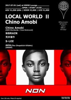 Chino Amobi【Local World Ⅱ Chino Amobi】at 東京
