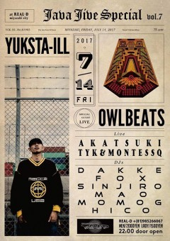 YUKSTA-ILL 【 JAVA JIVE vol.7 SPECIAL】at 宮崎