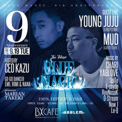 MUD、YOUNG JUJU【BLUE MAGIC -9th anniversary-】at 東京