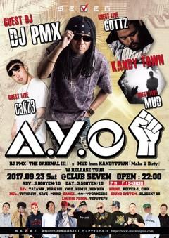 MUD【A.Y.O】at 新潟
