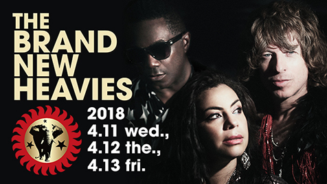 THE BRAND NEW HEAVIES【来日公演】at 東京