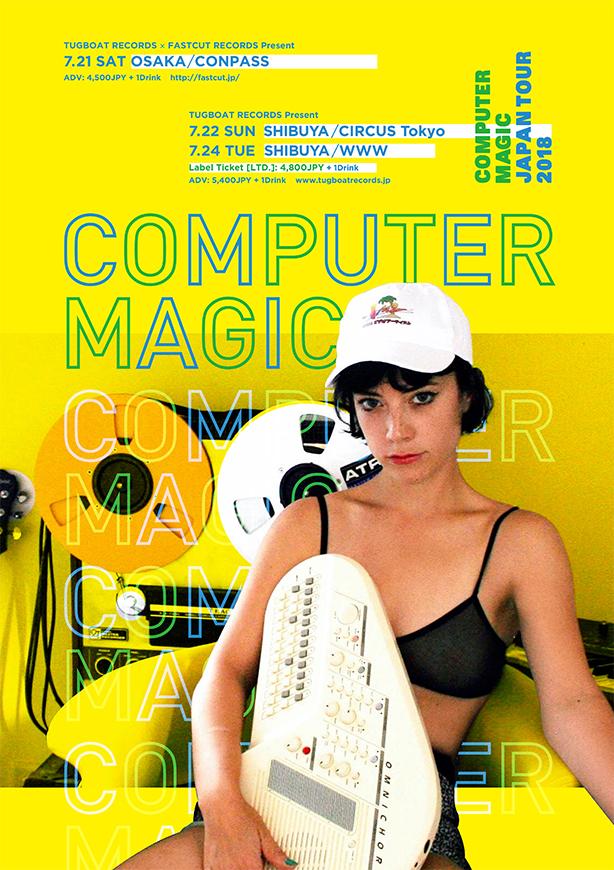 Computer Magic【Japan Tour 2018】at 東京