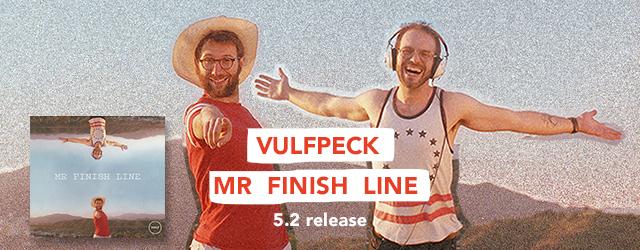"""5/2 release VULFPECK """"Mr. Finish Line"""""""