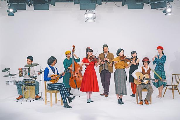 日本のアイリッシュ・ミュージック・シーンを牽引するバンド、tricolor(トリコロール)。その最新アルバム『tricolor BIGBAND』の武蔵野公会堂におけるレコ発ライブから2曲のライブ映像を公開!