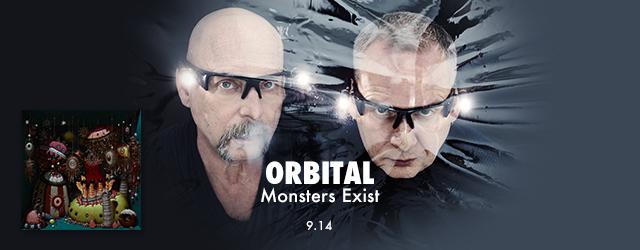 """9/14 release ORBITAL """"Monsters Exist"""""""