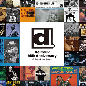 DELMARK 65TH ANNIVERSARY P-VINE BLUES SPECIAL