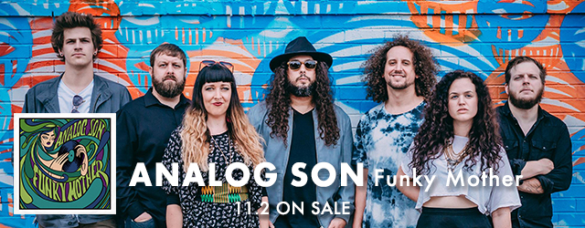 11/2 release ANALOG SON Funky Mother
