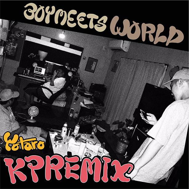 """仙人掌のセカンド・アルバム『BOY MEETS WORLD』のリミックス・プロジェクトから、第5弾シングルとしてYotaroによるタイトル曲""""Boy Meets World""""のリミックスが今夜24時より配信開始!"""
