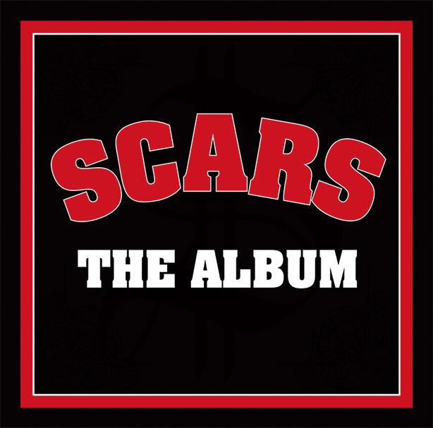 A-THUGを中心にSEEDA、STICKY、BES、bay4kらが名を連ねる日本語ラップ・シーン最重要グループ、SCARS!廃盤状態で入手激困難だった2006年リリースの傑作ファースト・アルバム『THE ALBUM』がリイシュー決定!