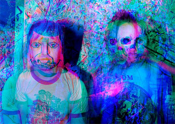 ノイズ・ロック・デュオ、ライトニング・ボルト(Lightning Bolt)最新アルバム『ソニック・シタデル』から完全にワイルドな「Blow To The Head」のMVを公開!