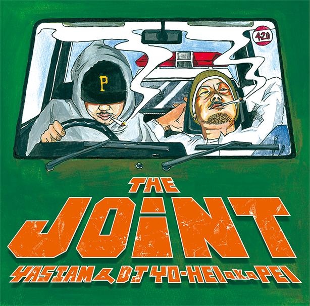 YAS I AMが相棒DJ YO-HEI a.k.a. PEIとのジョイントアルバム「THE JOINT」を本日デジタルリリース