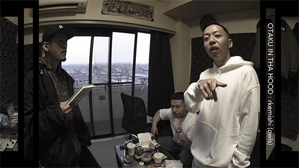 GREEN ASSASSIN DOLLARとのユニット、owlsとしてのデビュー・アルバムが好評発売中なrkemishiが登場したSSTV「BLACKFILE」の「オタク IN THA HOOD」がYouTubeにて公開!ナビゲーターはILLSUGI!