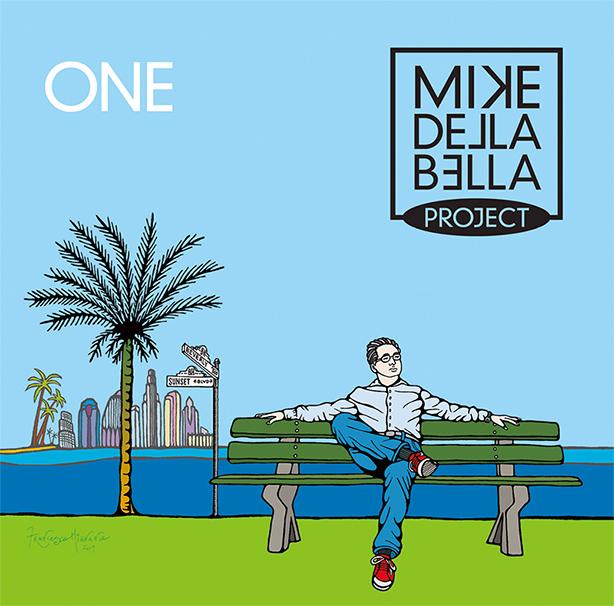 金澤寿和監修新作!イタリア発のソリッドな西海岸サウンド、マイク・デラ・ベラ・プロジェクト『ONE』本日リリース!