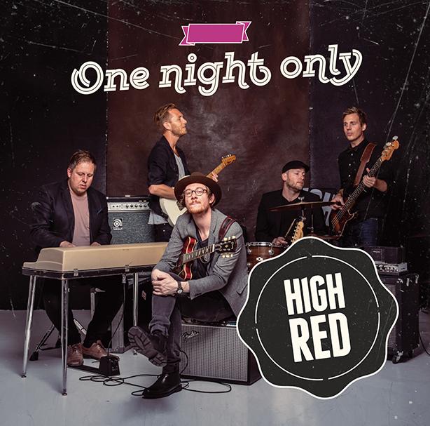 北欧AOR~ブルーアイドソウルの超実力派バンド:High Red、圧倒的なパフォーマンスを収めた熱狂のライヴ・アルバムが本日リリース!