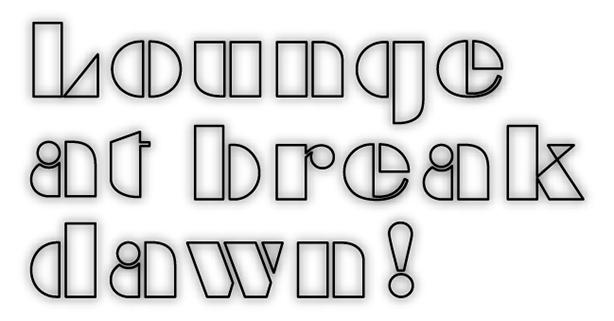 疾走するクラブ・ジャズから清涼感溢れるブラジリアン・グルーヴ、耳心地の良いボッサまで、時代を超えて愛されるラウンジ・ミュージックの名盤をお届けする新シリーズ「Lounge at break dawn!」スタート!