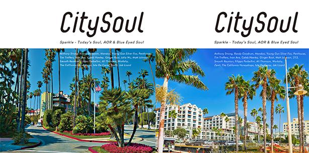 """70〜80年代から活躍するレジェンドや10年代に登場した新世代まで、クロスオーヴァーなソウル、AOR &ブルー・アイド・ソウルのいま聴くべき最新曲をセレクトした""""City Soul""""最新コンピレーション!"""