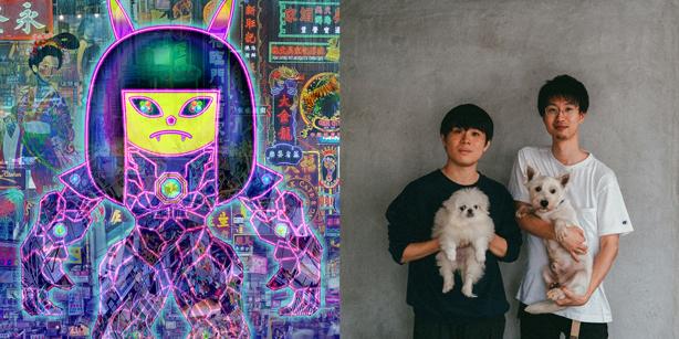 アルバム『ALIEN GALAXY MAIL』をリリースしたさよひめぼうと、パソコン音楽クラブによる鼎談がAVE | CORNER PRINTINGにて公開!GraphersRockデザインによるロングTシャツの受注販売もスタート!
